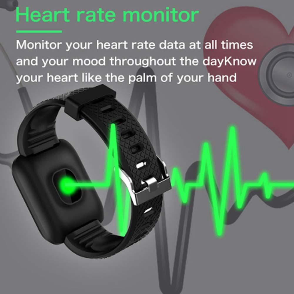 Smartwatch intelligente orologio con frequenza cardiaca e..
